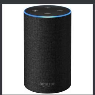 (Ready)Amazon echo (2nd Generation) with improved sound, powered by Dolby, and a new design – Charcoal Fabric