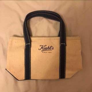 Kiehls small bag - canvas material