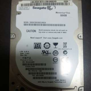 Hard Drive : Seagate Momentus®Thin 320GB