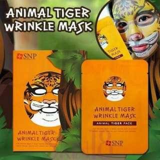 Masker Animal SNP Tiger Wrinkle
