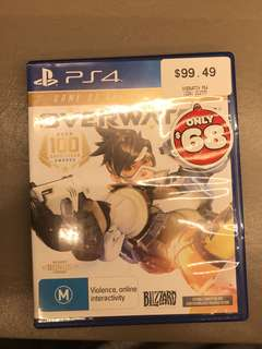 Overwatch PS4 Brand New