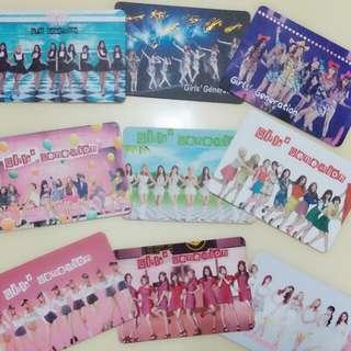 少女時代團體卡