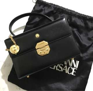 Authentic Versace Handbag Vintage NOT Gucci Celine Chanel Ferragamo YSL