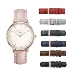 Rosefield Leather Watches