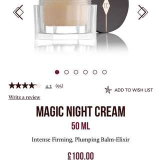 15ml Charlotte Tilbury MAGIC NIGHT CREAM