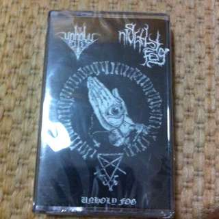 Unholy Rites/Nigthly Fog split tape