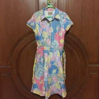 Batik Pastel Dress