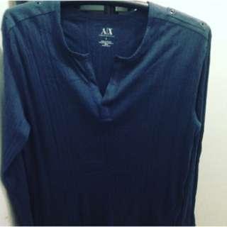 Authentic Armani sweat shirt- large