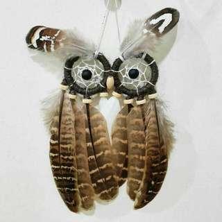 Pre-order Handmade Owl Dreamcatcher
