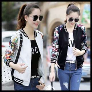 Korean Autumn womens bomber jacket