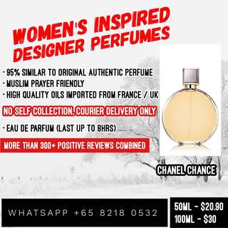 Inspired Perfumes @ $22.90