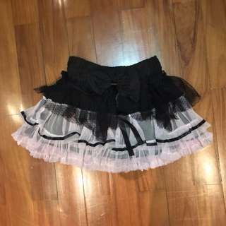 Ruffled Gothic Skirt