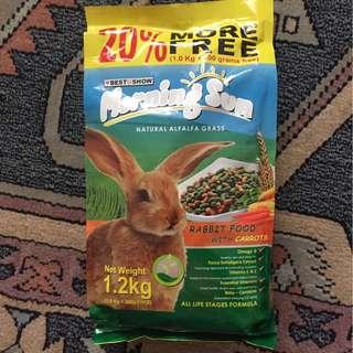 Take All! Rabbit food + Pet bowl