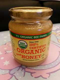 Organic Raw Honey 454g