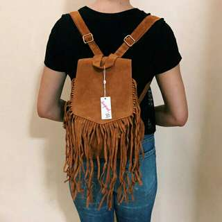 SUPRE ZOE FRINGE BAG FROM NEW ZEALAND