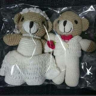 Wedding Couple Teddy Bears