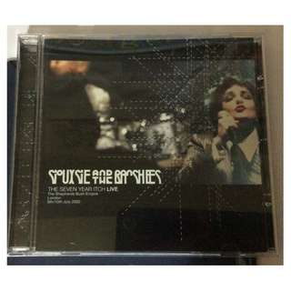 NM Siouxsie and the banshees live seven yr itch cd rock pop goth