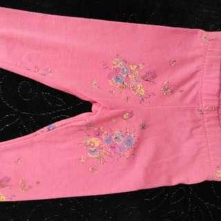 Oriental design pants