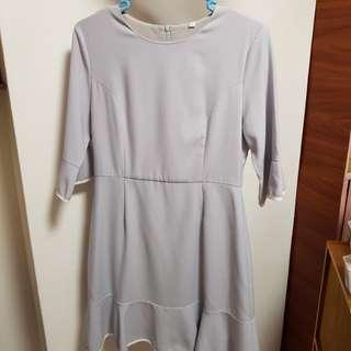 Neonmello bell sleeve dress #Easter20