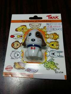 Trek 32GB cute dogie thumbdrive