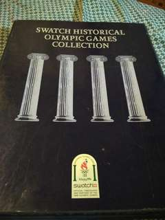 Swatch historical olympic games collection