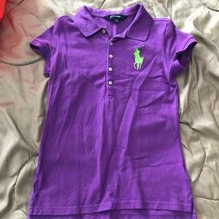 Girl's Ralph Lauren Polo Shirt