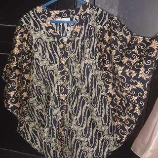 Batik keris model kelelawar