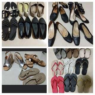 BONIA, ZARA, PEDRO, HAVIANAS Ladies Shoes
