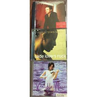 As-is condition cd sade vanessa simply red cd lot pls see descr