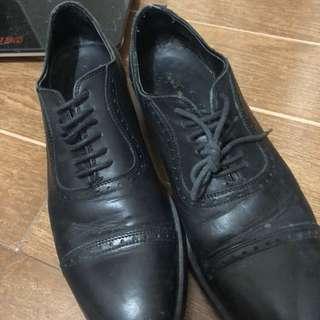 Zara man black shoes