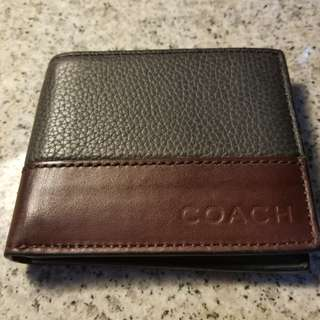 Men's COACH Wallet 皮銀包