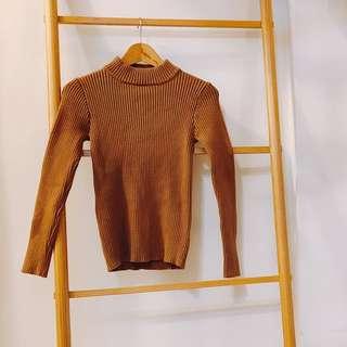 Dresseum 從前從前 半高領羊毛毛衣