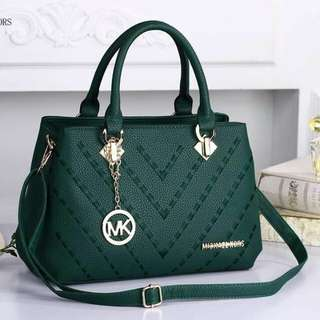 Michael Kors Sling Bag Emerald Green Color