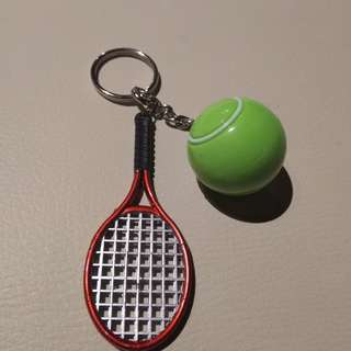 Tennis Key chain. Brand New. P95.