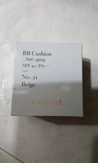 Laneige BB Cushion Anti-aging SPF 50