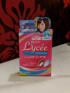 Rohto Lychee Eyedrops for contact lenses