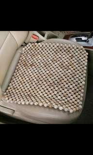 Car chair seat beads