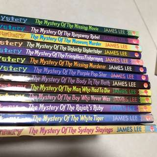 13 mr mystery books
