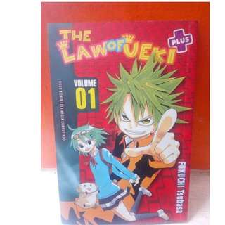 H02 Komik The law of Ueki Vol. 1