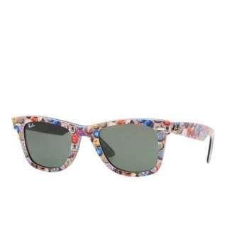 半價絕版Ray Ban sunglasses RB2140 special series#4 unisex wayfarer handmade in ITALY 太陽眼鏡