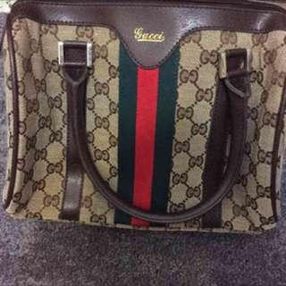 🚚 Gucci波士頓手提包(小)