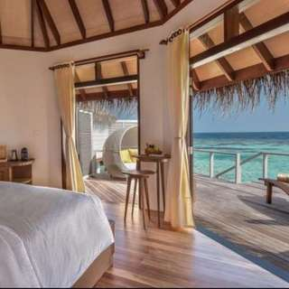 Drift Thelu Veliga Retreat Maldives Water Villa Resort Hotel Stay Ticket Voucher 6D5N