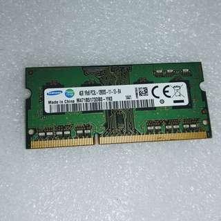 SAMSUNG M471B5173DB0-YK0 4GB DDR3L 1600MHz