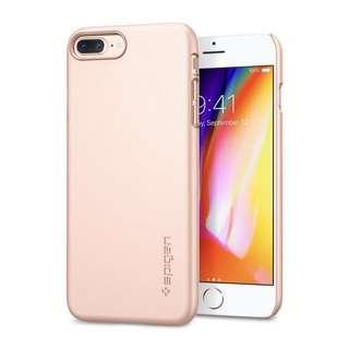 Spigen Thin Fit Blush Gold Case for iPhone 7/8 Plus