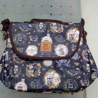 Dolly Club 3-Way Bag Owl Family (Authentic)