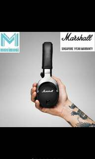 Marshall Monitor Steel Edition Headphones