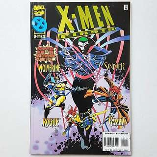 Marvel Comics X-men Firsts Very Fine Condition