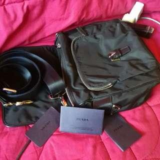 Original Prada - Black Sling Bag