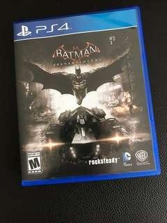 PS 4 Batman Arkham Night