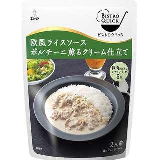 (全新訂購) 日本製造 Kewpie Bistro Quick 歐洲風蘑菇忌廉 245g (3 包裝)